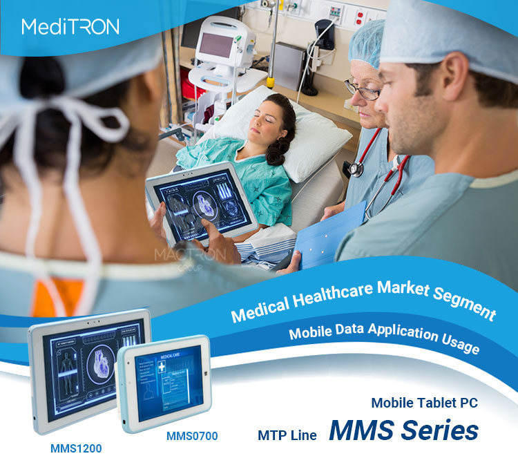 Mobile Data Application Usage - MACTRON Mobile Tablet PC MMS Series