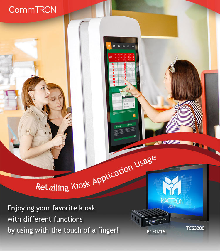 MACTRON GROUP Newsletter - Retailing Kiosk Application Usage