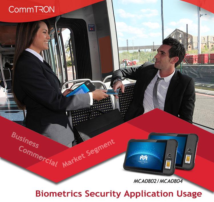 Biometrics Security Application Usage Business Commercial Market Segment